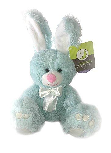 Animal Adventure Blue Plush Bunny
