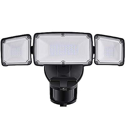 Motion Sensor Light Outdoor 35W, Glorious-LITE 3500LM LED Security Light