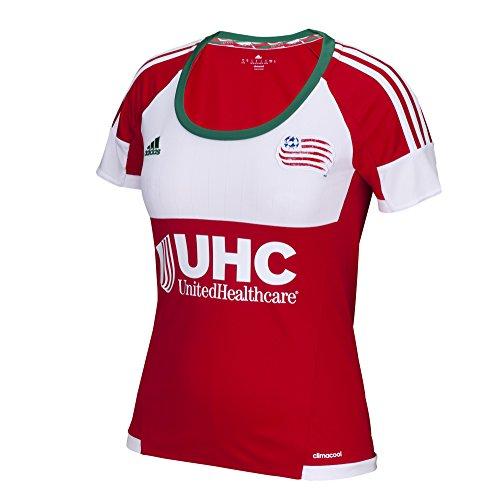 MLS New England Revolution Women's Replica Short Sleeve Team Jersey, Black, Medium