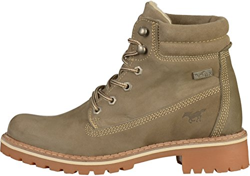Bottine Mustang femmes Taupe 604 2837 PAqz7pt