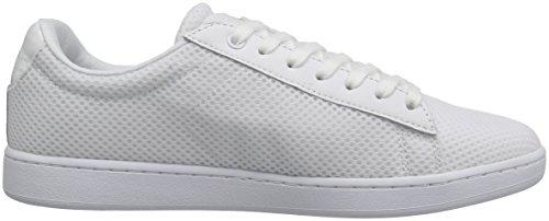 Lacoste Women's Carnaby Evo 416 1 Spw Fashion Sneaker, White, 9 M US