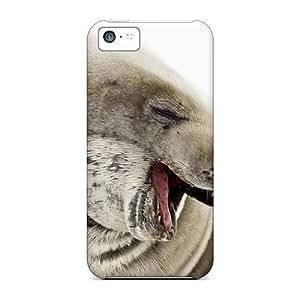 New Arrival KkDLQAk759hDiKQ Premium Iphone 5c Case(animals Under Water Seal) by icecream design