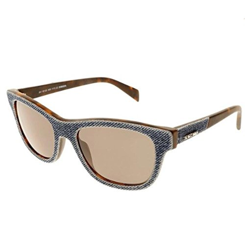 Diesel Denim Wayfarer Sunglasses in Blue Denim DL0111 92N 52