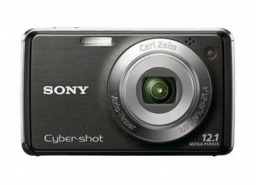 (Sony Cybershot DSC-W220 12.1MP Digital Camera with 4x Optical Zoom with Super Steady Shot Image Stabilization (Black))