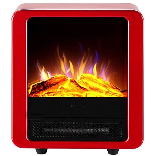 Cheap Electric Stove Fireplaces Log Burner Electric Fire Stove Freestanding Electric Fireplace Fire Wood Log Burning Effect Flame Heater Stove900/1800W Suitable for Living Room Bedroom Study Black Friday & Cyber Monday 2019