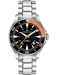 Hamilton Khaki Navy Scuba Black Dial Automatic Mens Watch H82305131
