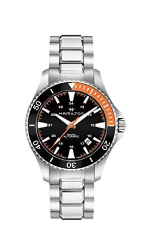 Hamilton Khaki Navy Scuba Black Dial Automatic Men's Watch H82305131