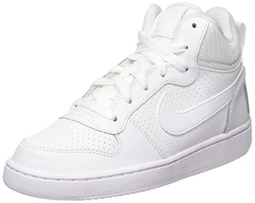 Bianco Borough gs 100 Court Scarpe white Mid Da Nike Bambino Basket 8qfHw5qU