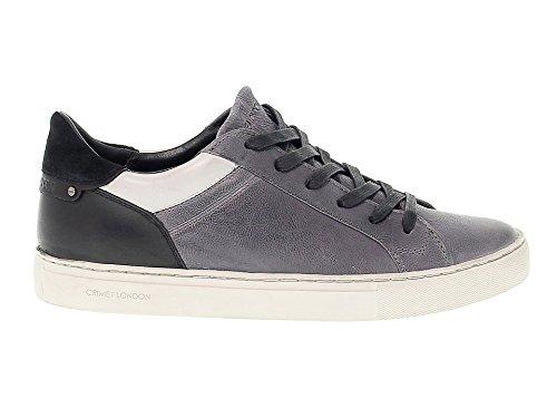 Crime London Sneakers Uomo 11031A1730 Camoscio Grigio/Nero