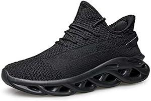 [Caligen] スニーカー メンズシューズ ランニングシューズ スポーツシューズ 運動靴 ジム ウォーキングシューズ トレーニングシューズ メンズ レディース クッション性 4cm身長アップ 通気軽量 通学通勤 日常着用 男女兼用 履きやすい