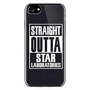 iPhone 7 Transparent Edge Case Straight Outa Star Laboratories