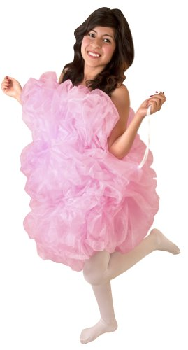 Adult Loofah Costume (Size: Standard 6-10) -