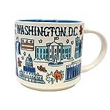 Starbucks Coffee 2018, Been There Series, Washington DC Mug, 14-Ounce with Gift Box