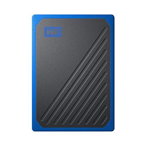 WD 1TB My Passport Go SSD Cobalt Portable External Storage, USB 3.0 - WDBMCG0010BBT-WESN by Western Digital (Image #2)