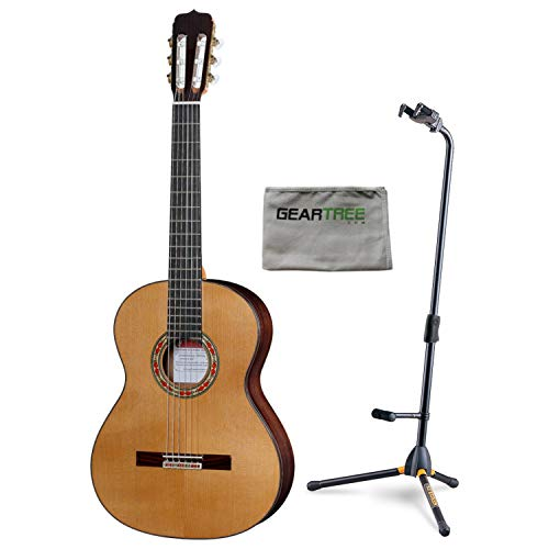 Jose Ramirez Studio 1 Classical Guitar w/Case, Cloth, and Hercules Stand