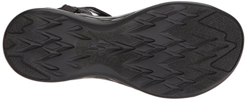 Skechers Damen 600-Brilliance Sport Sandale Schwarz