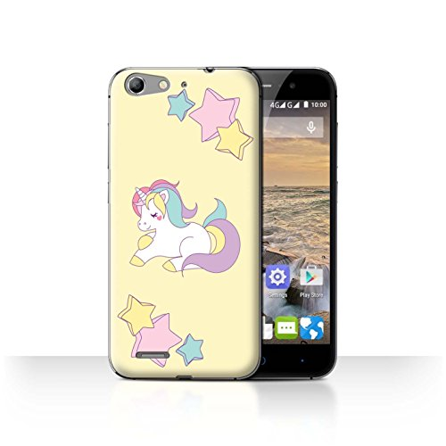 V6 Pony (STUFF4 Phone Case / Cover for ZTE Blade V6/D6/X7 / Pony Stars Design / Fantasy Unicorn Collection)