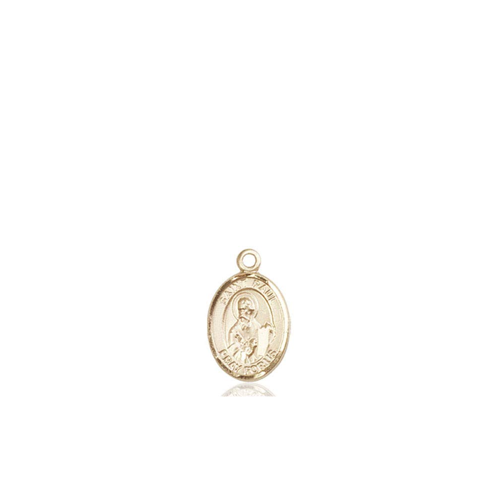 Paul the Apostle Medal 14kt Gold St