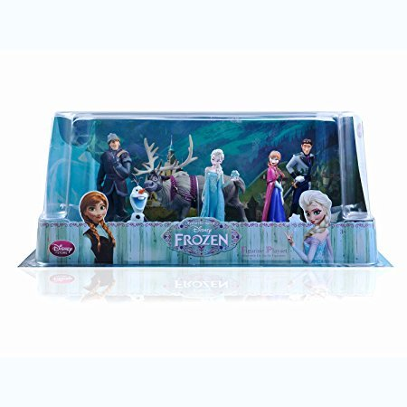 HOT Disney Frozen Anna Elsa Hans Kristoff Sven Olaf 6pcs Figures cake - Women Montreal Hot