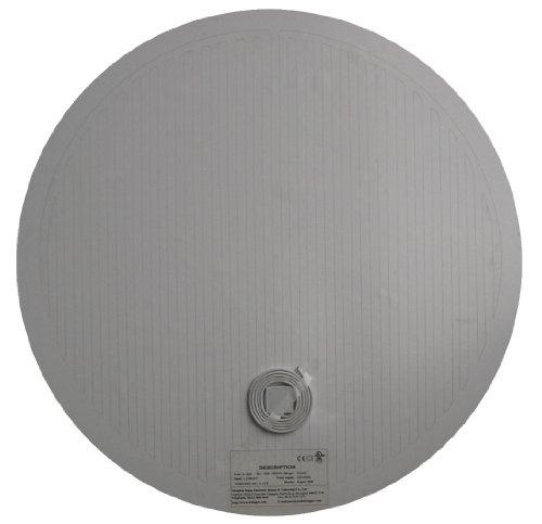 Radimo MD15 Mirror Defogger Pad Round, Diameter 15-Inch , - Heating Pad Mirrors Bathroom For