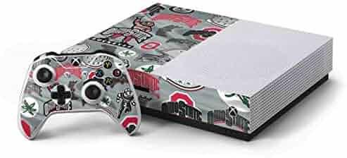 Ohio State University Xbox One S Console and Controller Bundle Skin - Ohio  State Pattern  642290e56