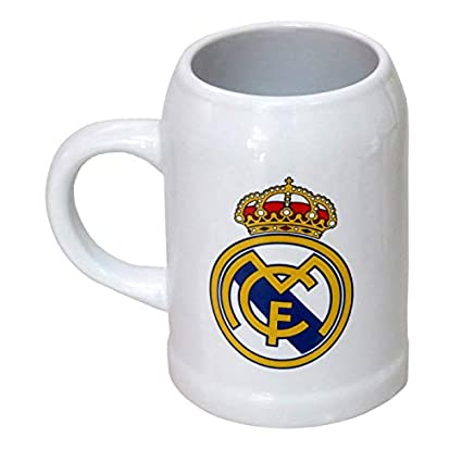 C Y P Jarra Cerveza 400ml Real Madrid