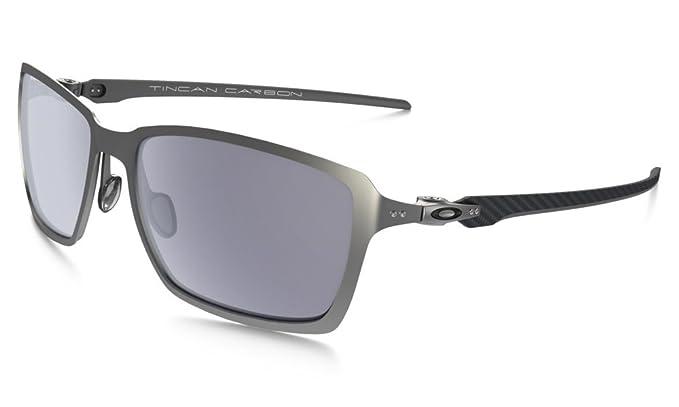 e9e0ee6eed Oakley Men s Tincan Carbon Rectangular Sunglasses