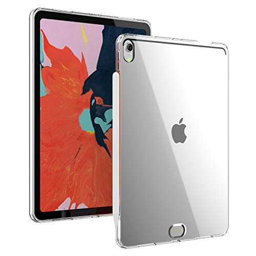 iPad Pro 11 Case Compatible with New Apple Pencil Charging Soft TPU Slim Cover for iPad Pro 11 inch 2018 Clear