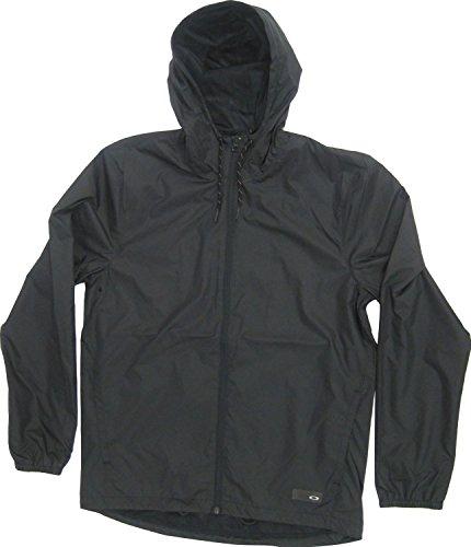 Oakley Windbreaker - Oakley Men's 365 Windbreaker Jacket, Blackout, X-Large