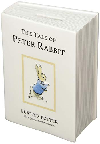 (Beatrix Potter Official Licensed The Tale Peter Rabbit Ceramic Money Bank)