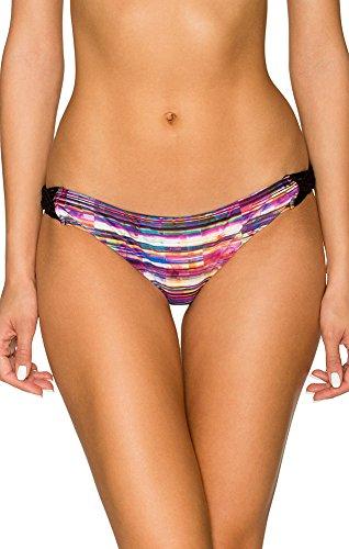 Rose Aerin Swimsuit (Aerin Rose B468 Womens Macrame Hipster Bottom, Le Marais, Size - Large)
