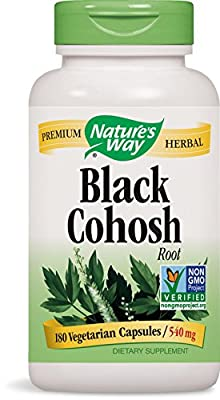 Nature's Way Black Cohosh Root 540 mg, 180 VCap