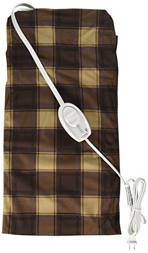 "Sunbeam Heating Pad King-Size with UltraHeat Technology, 4 Heat-Settings, Moist/Dry Heat, Machine-Washable Cover, 12"" x 24"""