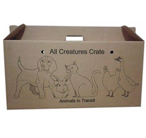 L View your listing CARDBOARD PET CARRIERS - LARGE 64cm x 31cm x 21cm - ANIMAL PET - CARRIER (X1 BOX) LEEWAY