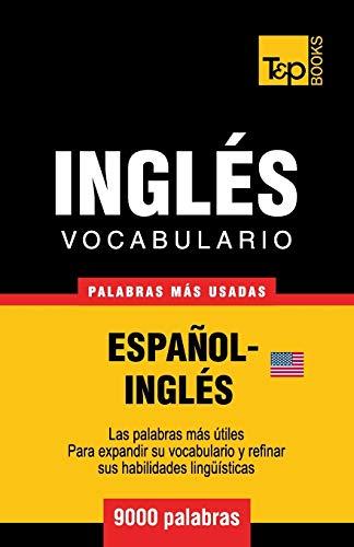 Libro : Vocabulario Español-ingles Americano - 9000 Pala...
