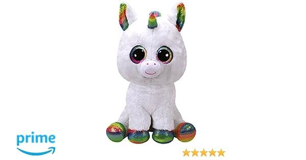 TY - Beanie Boos Pixy, peluche unicornio, color blanco, 40 cm (United Labels Ibérica 36859TY): Amazon.es: Juguetes y juegos