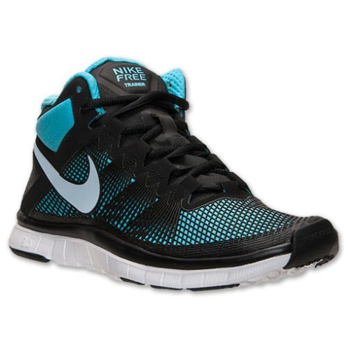 fcfd7218e45f3a Nike Men s Free Trainer 3.0 Mid Black Lt Armory Blue GMM Blue Training Shoe  11.5 Men US - Buy Online in Oman.