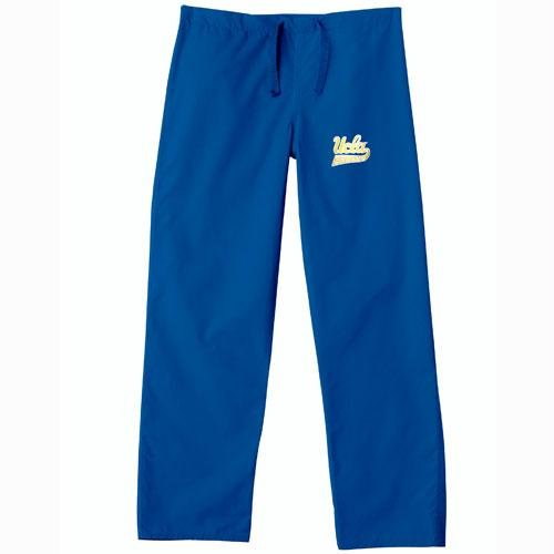 UCLA Bruins NCAA Classic Scrub Pant (Royal) (2X Large) by Gelscrubs
