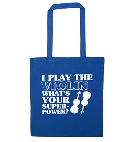 Superpower Violin Creative I Flox Play Tote Bag What's Blue Your RA8XwPqFxX