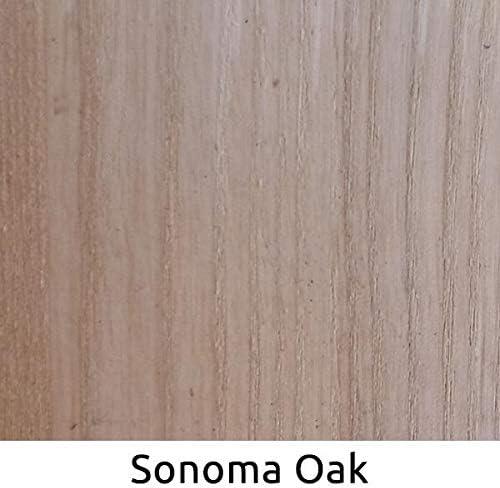 WooDeeDoo – Tinte para madera, Tinte para madera, roble Sonoma, 2 litro