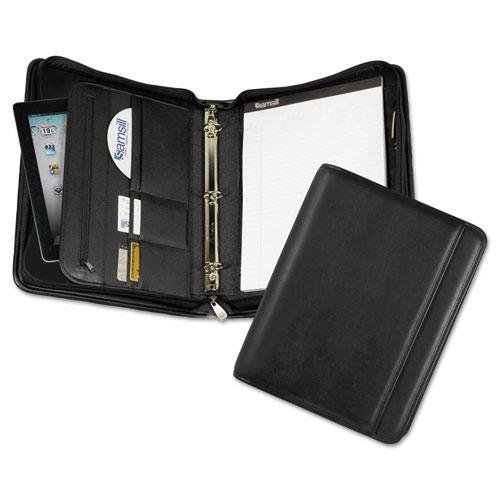 SAM15650 - Samsill Sterling Zipper Pad Holder/Ring Binder (Sterling Samsill Holder Pad Zipper)