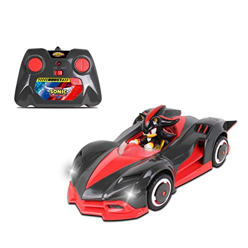 (NKOK Team Sonic Racing 2.4Ghz Remote Controlled Car with Turbo Boost - Shadow The)