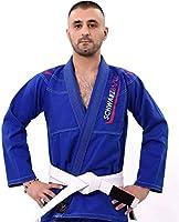 Schwarzbull Vitals,Brazilian jiu Jitsu BJJ Gi Kimono,100/% algod/ón Tela con cintur/ón Blanco Gratis,
