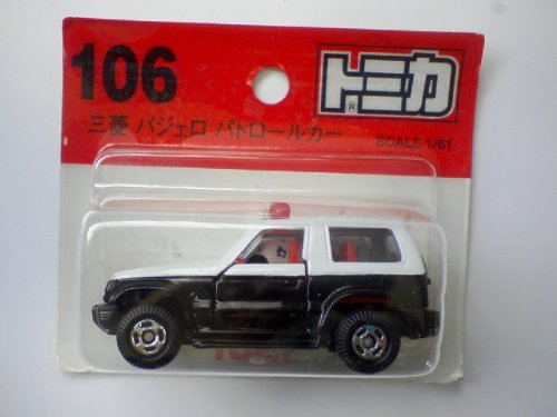 Tomica 106 Mitsubishi Pajero patrol car 1/61