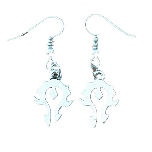 Outlander Wow Horde Logo Earring Dangles In Gift Box From