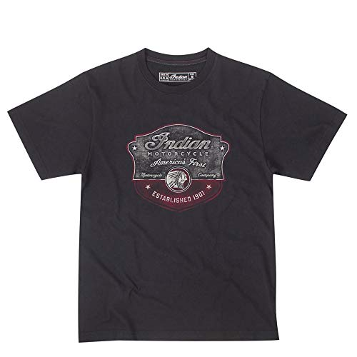 Indian Motorcycle Men's Icon Badge Tee - Size Medium 286892703