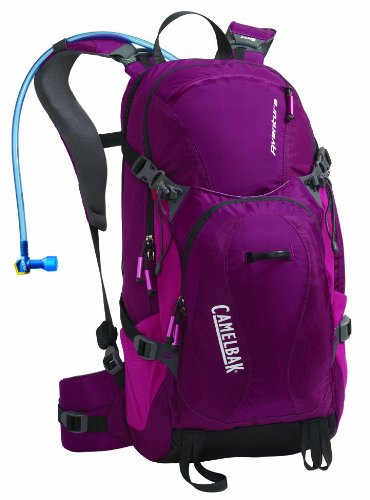 Camelbak Aventura 100 oz Hydration Pack, Raspberry Radiance/Fuchsia Red, Outdoor Stuffs