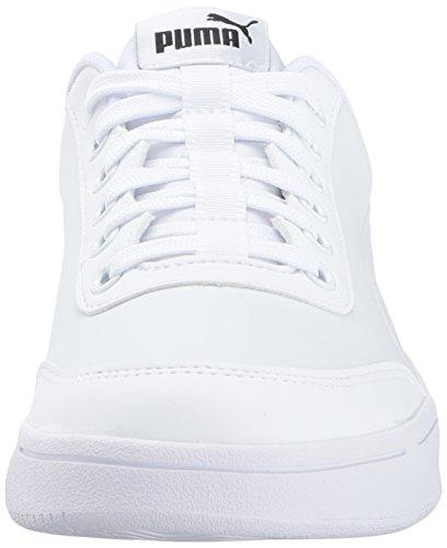 Puma Uomo Court Breaker L Mono Sneaker Puma Bianco-puma Bianco