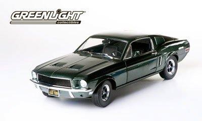 GreenLight 1:18 Bullitt/Steve McQueen  - 1968 Ford Mustang
