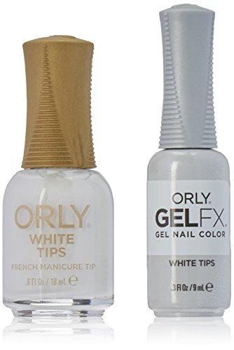 パブディスカウントゆるくOrly Nail Lacquer + Gel FX - Perfect Pair Matching DUO - White Tips